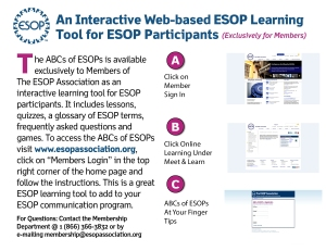ABCs of ESOPs flyer 2012
