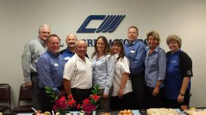 Carl Warren - Joe Baca with CWC team