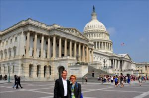 Members of the California/Western States Chapter visiting Capitol Hill during the Annual Conference.