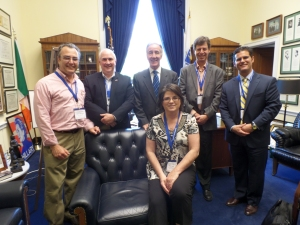 New England Chapter members visit with Congressman Richard E. Neal (D-MA).