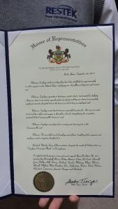 Penn 2015 Proclamation